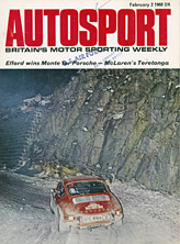 Porsche 911T, Elford/Stone