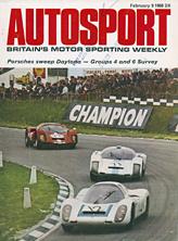 Porsche 907, Neerpasch/Herrmann