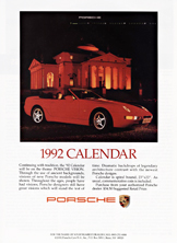Porsche Cars North America - 1991